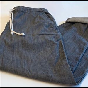 Eileen Fisher drawstring pants size small